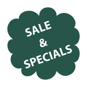 Sale und spezielle Angebote