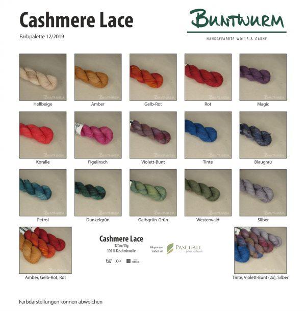 Cashmere Lace Übersicht